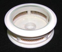 画像1: プラスチック製、極薄太鼓型・虫管〔ヒバリ類飼育用〕