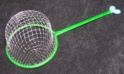 画像1: コオロギ用・虫網 S