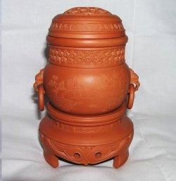 画像1: 銘品・コオロギ類用養盆型飼育壷 2007モデル