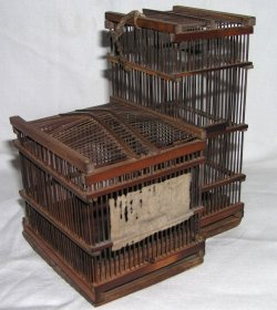 画像1: 江戸時代の虫籠(非売品)